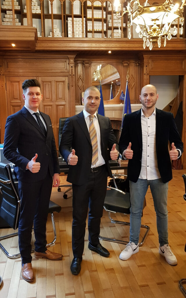 TCC team in the brussels office